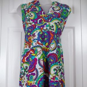 NWOT Jude Connally Multicolored Dress Size L